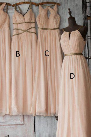 Custom Made Mismatched Bridesmaid Dresses, Convertible Evening Dresses, Bridal Collection, Prom Dresses