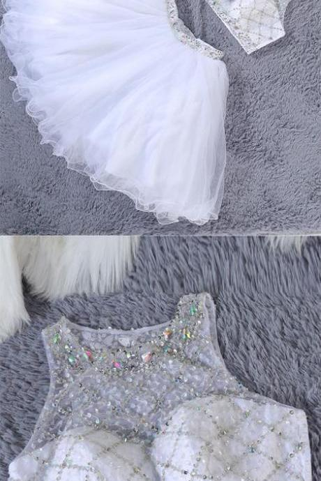 Homecoming dress,sexy homecoming dresses,Homecoming dress with beading,H1344
