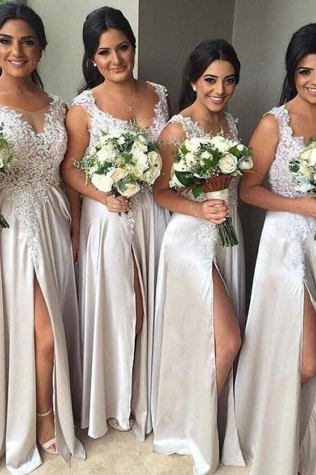 Fashion Bridesmaid Dress,Sweetheart Bridesmaid Dress,Strapless Bridesmaid Dress,A-line Bridesmaid Dress,Charming Bridesmaid Dress,B2071