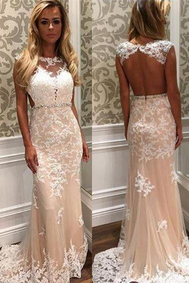Custom Mermaid Prom Dresses, Cheap Prom Dress, Lace Prom Dress,Long Prom Dress 2017, Affordable Prom Dress, Junior Prom Dress, Formal Evening Dresses Gowns, Party Dresses