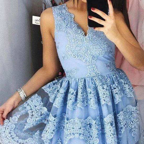 Sleeveless Homecoming Dresses, Lace Homecoming Dress, New Homecoming Dresses, Sexy Homecoming Dresses